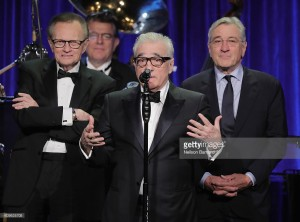 attends as Friars Club Honors Martin Scorsese With Entertainment Icon Award at Cipriani Wall Street on September 21, 2016 in New York City.